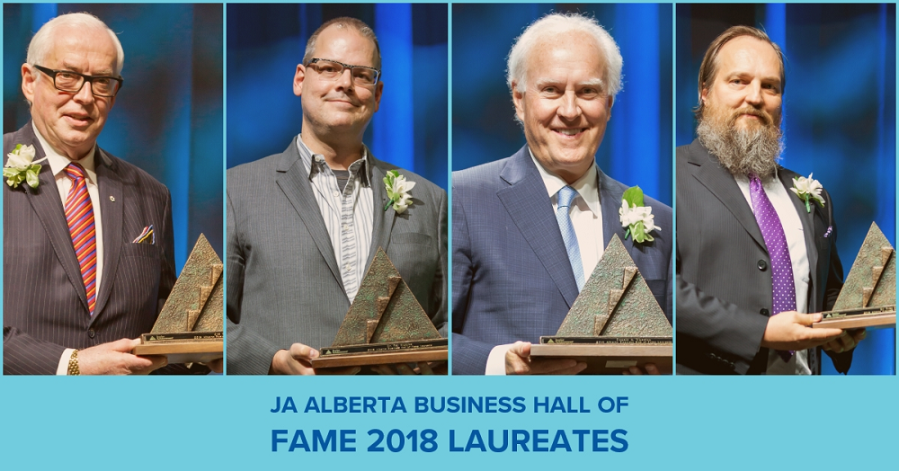 2018 Alberta Business Hall of Fame Laureates - Junior Achievement of Northern Alberta